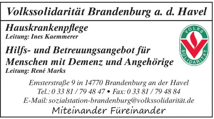 Volkssolidarität Brandenburg a. d. Havel