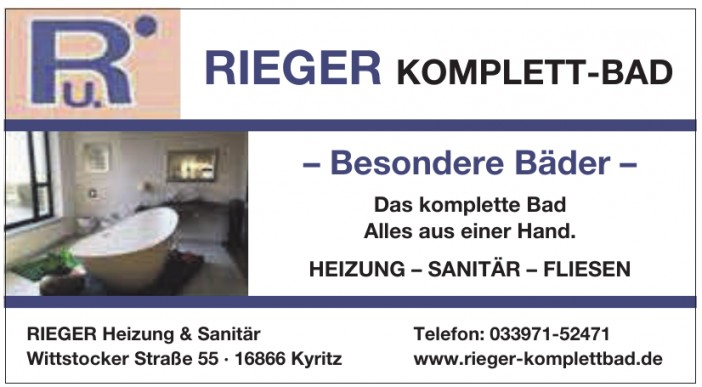 RIEGER Heizung & Sanitär