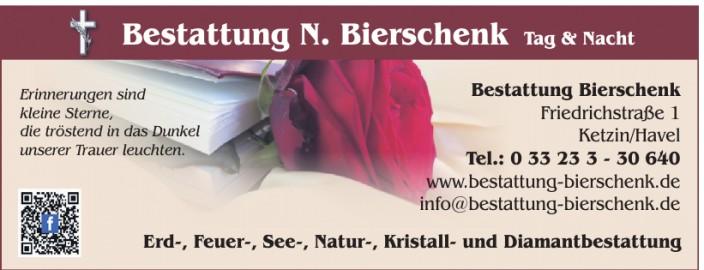 Bestattung N. Bierschenk
