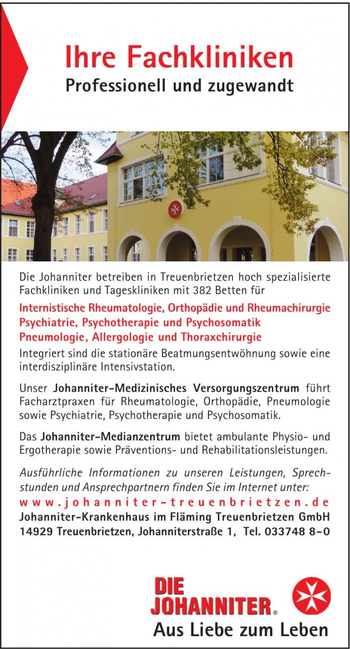Johanniter-Krankenhaus im Fläming Treuenbrietzen GmbH