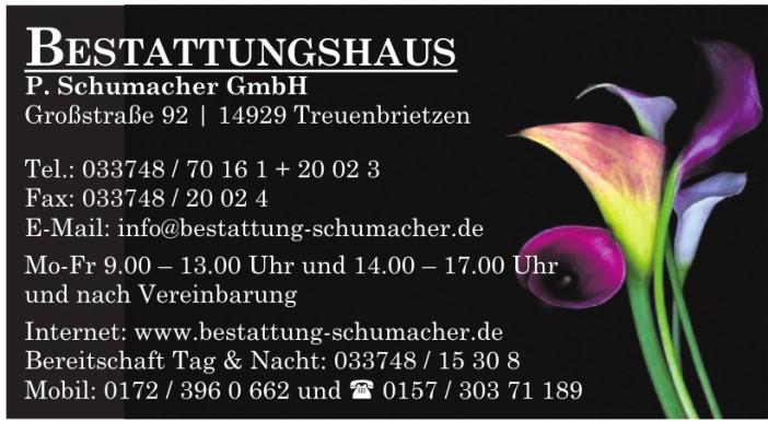 Bestattungshaus P. Schumacher GmbH