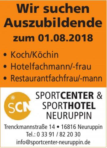 Sportcenter & Sporthotel Neuruppin