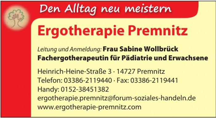 Ergotherapie Premnitz