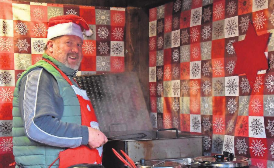 Elke's Suppenküche: Zum Abschluss auf dem Pritzwalker Weihnachtsmarkt.
