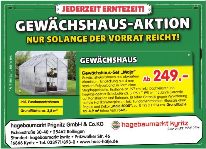 hagebaumarkt Prignitz GmbH & Co. KG