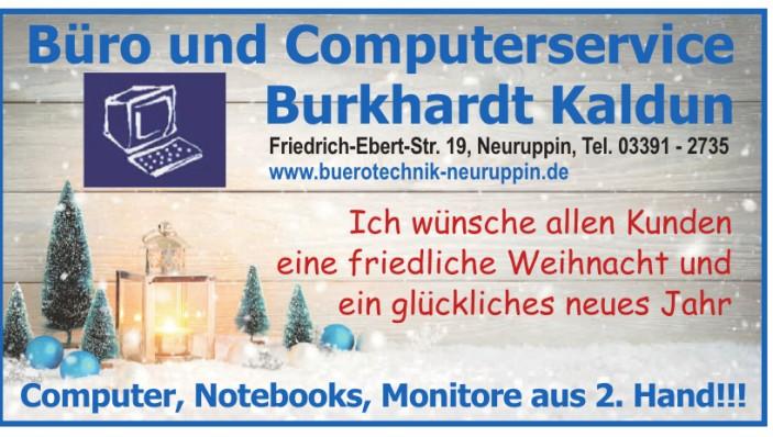Büro und Computerservice Burkhardt Kaldun