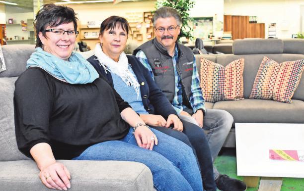 Die Brandenburger Möbel-Experten freuen sich auf Ihren Besuch. FOTO: NATALIE PREISSLER