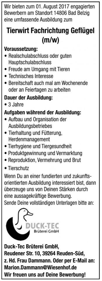 Duck-Tec Brüterei GmbH