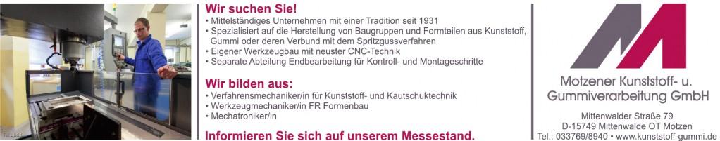 Montzener Kunststoff- u. Gummiverarbeitung GmbH