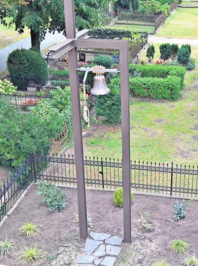 Im Rahmen des Tags des Friedhofs wird der neue Glockenturm eingeweiht. FOTO: PRIVAT