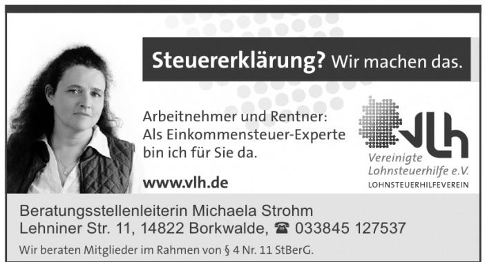 VLH Beratungsstellenleiterin Michaela Strohm