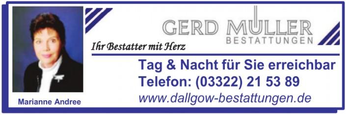 Gerd Müller Bestattungen