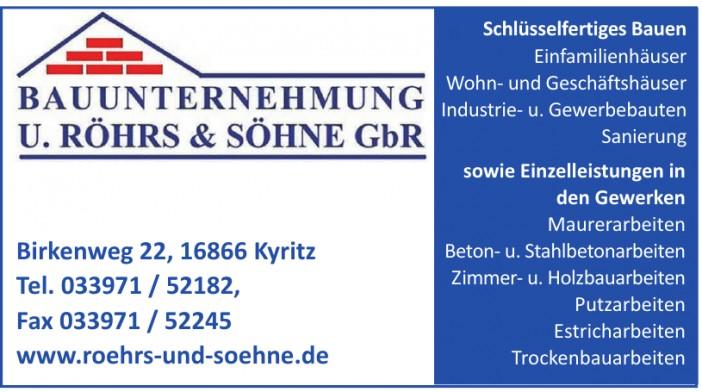 U. Röhrs & Sohne GbR